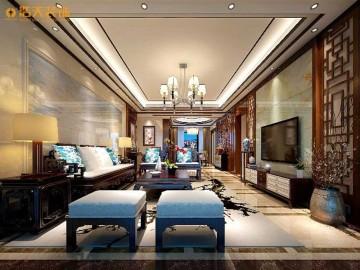 特发和平里-四居室-中式古典
