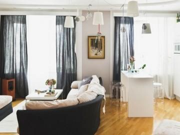 北花园60㎡时尚公寓设计
