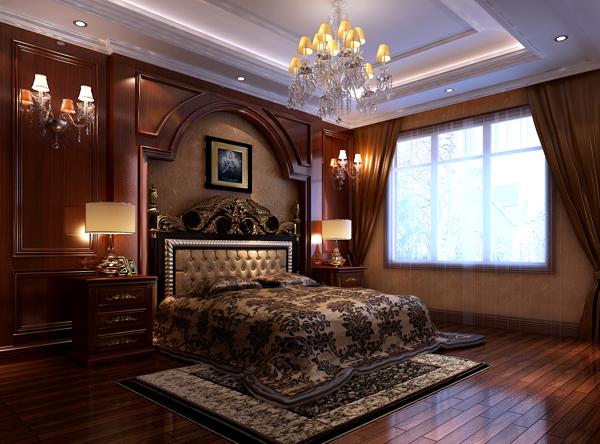 欧式 别墅 收纳 白领 80后 小资 高富帅 卧室图片来自北京高度国际---小吴在浪漫欧式润泽公馆的分享