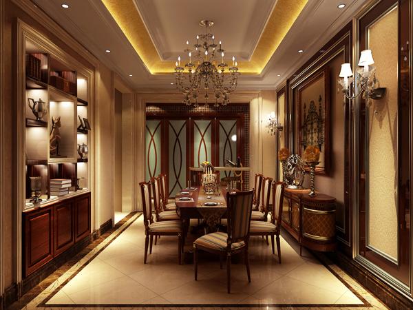 欧式 别墅 收纳 白领 80后 小资 高富帅 餐厅图片来自北京高度国际---小吴在浪漫欧式润泽公馆的分享