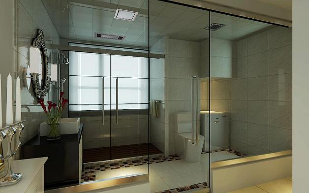 凯旋门 欧式风格 大宅 卫生间图片来自百家设计小刘在凯旋门200平欧式风格设计的分享
