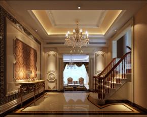 欧式 别墅 收纳 白领 80后 小资 高富帅 楼梯图片来自北京高度国际---小吴在浪漫欧式润泽公馆的分享