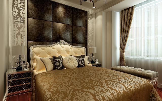 凯旋门 欧式风格 大宅 卧室图片来自百家设计小刘在凯旋门200平欧式风格设计的分享