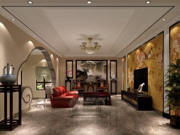四合院506平米中式风格