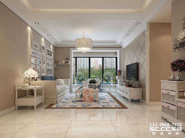 设计 理念客厅用石膏板隔断隔出一个生活阳台,让空间的实用性更强,客厅电视墙采用石膏板勾缝工艺,使电视墙即简洁大方又不失层次感。