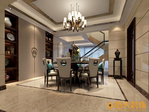新中式风格是在后现代建筑基础上适用于现代居住理念的中国风格,是中国传统风格文化意义在当前时代背景下的演绎,是对中国当代文化充分理解基础上的当代设计。