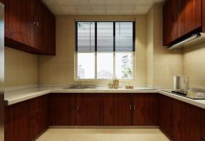 简约 中式 三居 白领 收纳 80后 小资 厨房图片来自实创装饰百灵在新中式 143㎡的分享