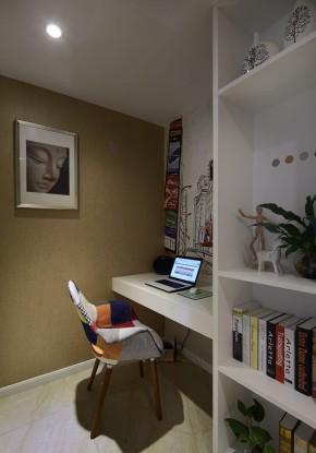 混搭 简单 大方 间洁 温馨 三居 沪上名家 书房图片来自沪上名家装饰在三房自由混搭玩个性的分享
