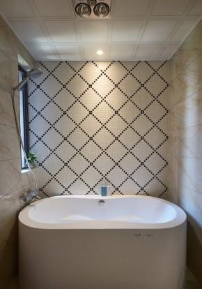 混搭 简单 大方 间洁 温馨 三居 沪上名家 卫生间图片来自沪上名家装饰在三房自由混搭玩个性的分享