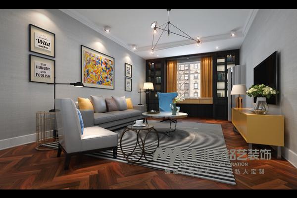 欧式 混搭 三居 收纳 旧房改造 客厅图片来自Myart--多多在翠堤春晓-北欧现代的分享