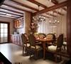 《华灯初上》北京4居室美式古典