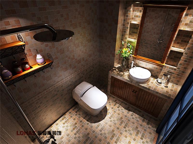 芳泽园装修 二居 美式 卫生间图片来自乐豪斯设计师毛宁在芳泽园装修效果图的分享