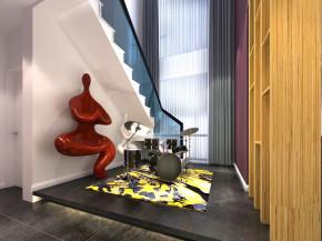 简约 现代 三居 复式 小资 80后 旧房改造 收纳 白领 楼梯图片来自一道伍禾装饰设计师杨洋在金科廊桥水岸的多彩现代生活的分享