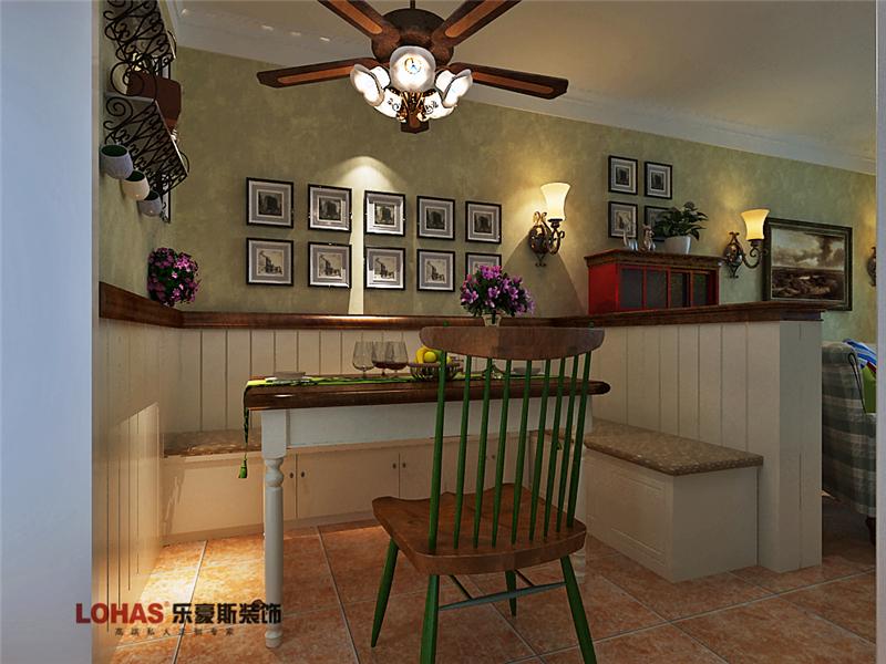 芳泽园装修 二居 美式 餐厅图片来自乐豪斯设计师毛宁在芳泽园装修效果图的分享