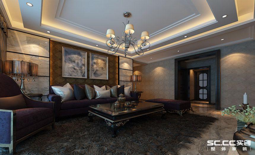 新古典 客厅图片来自郑州实创装饰啊静在蓝堡湾新古典雅致风格的分享