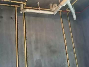 紫金佳苑水电竣工工地
