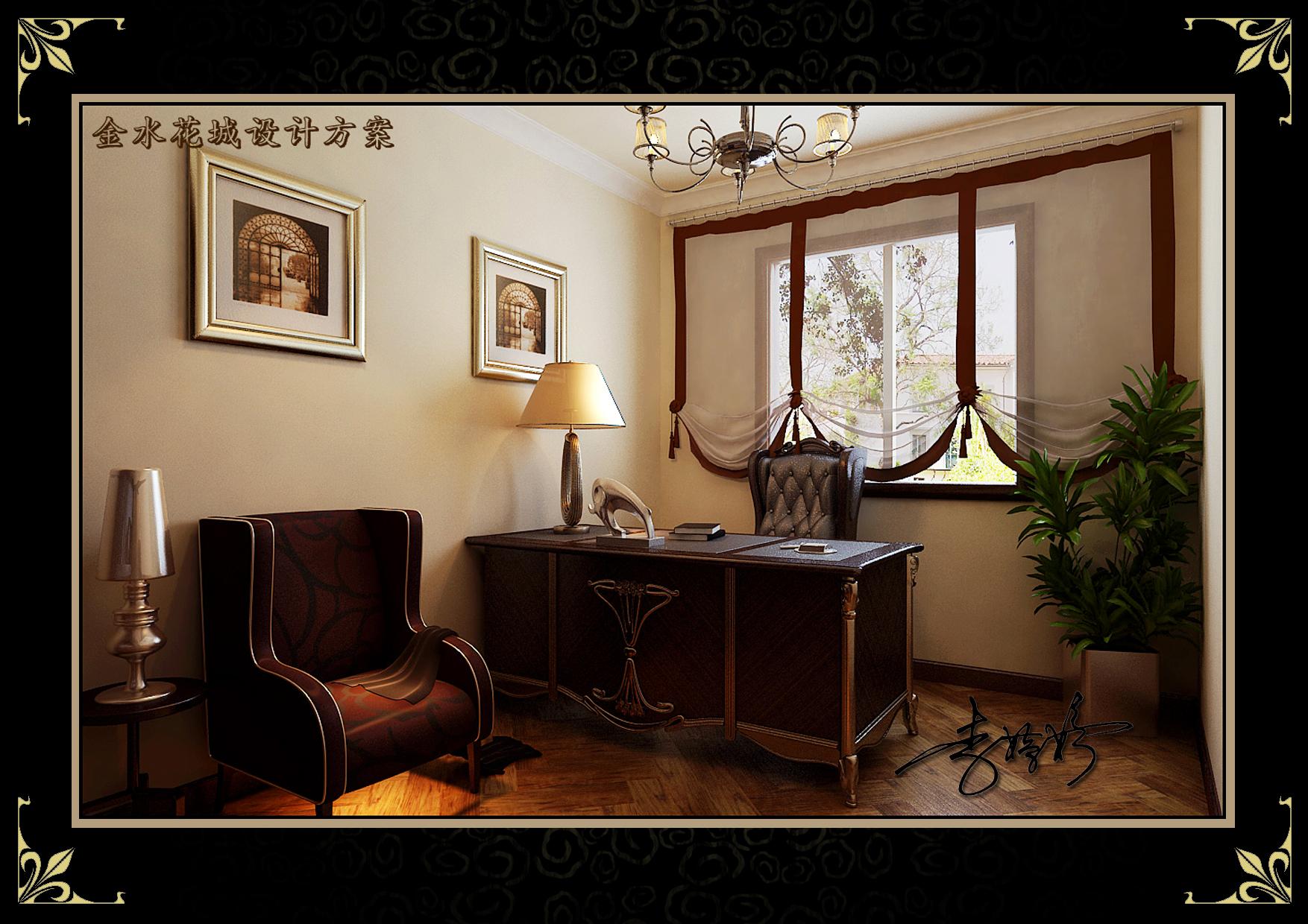 三居 阁楼 混搭风格 客厅图片来自百家设计小刘在金水花城142平阁楼美欧混搭风格的分享