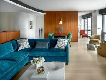 三居室现代混搭风格实景