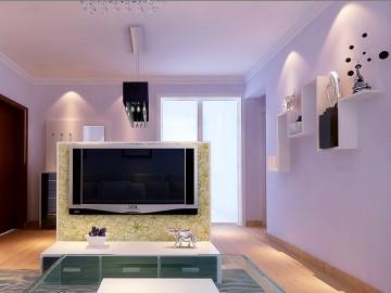 天伦锦城三居室现代简约风格