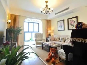 90平三室两厅美式乡村风格