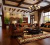 金科王府220㎡美式风格公寓