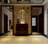 天伦庄园 中式风格四居装修