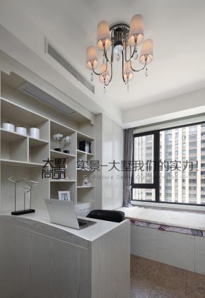 四居 现代 时尚 温馨 大墅尚品 书房图片来自大墅尚品-由伟壮设计在160平朝阳之泪·一个温馨舒适的家的分享