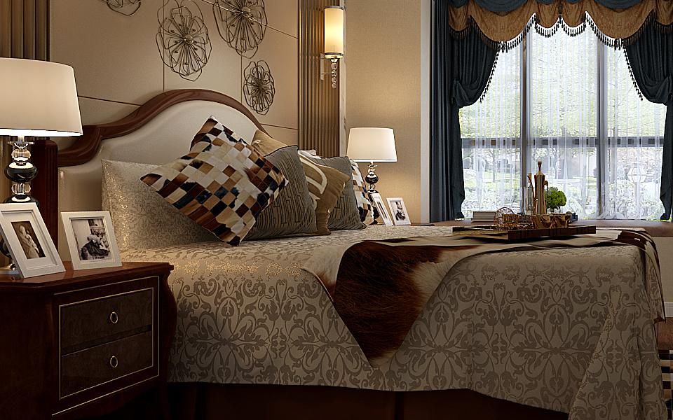 混搭 卧室图片来自湖南点石家装在旺景园案例欣赏的分享
