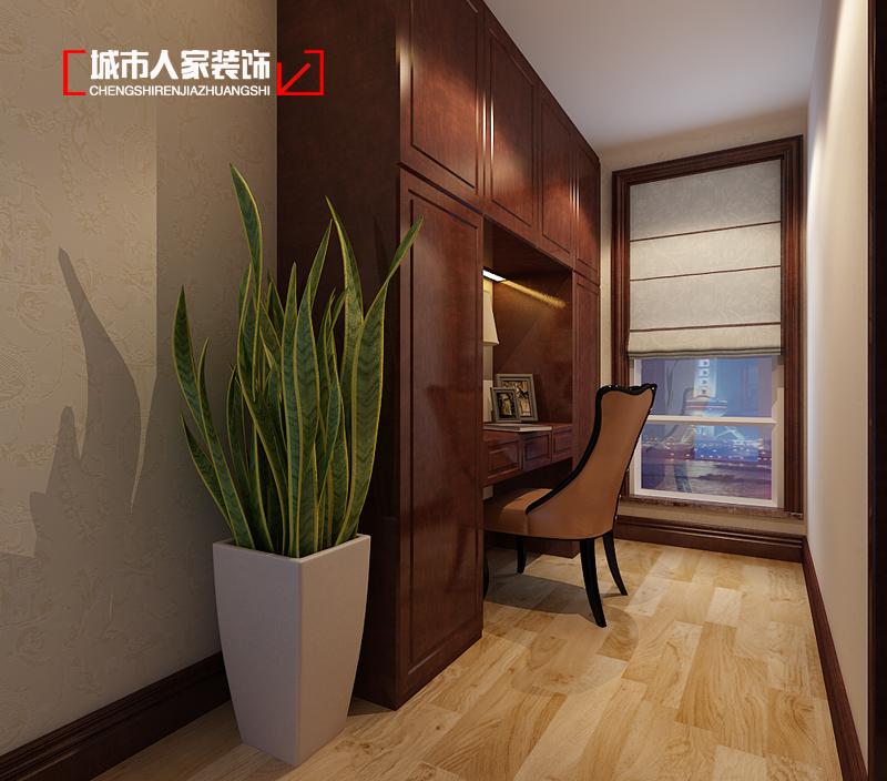 中式风格 家装公司 装修设计 万国城moma 城市人家 卧室图片来自太原城市人家原卯午在万国城moma244平米中式装修设计的分享