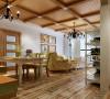 国际日坛公寓美式乡村60平米装修