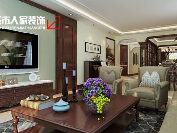 万国城moma244平米中式装修设计