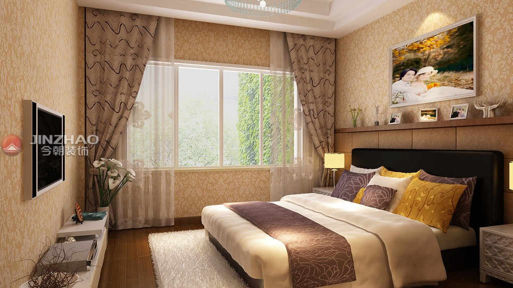 简约 卧室图片来自152xxxx4841在阳光汾河湾173的分享