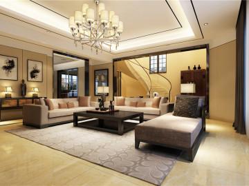 别墅装修韵味中式风格设计方案