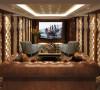 中海紫御豪庭别墅装修欧式古典风