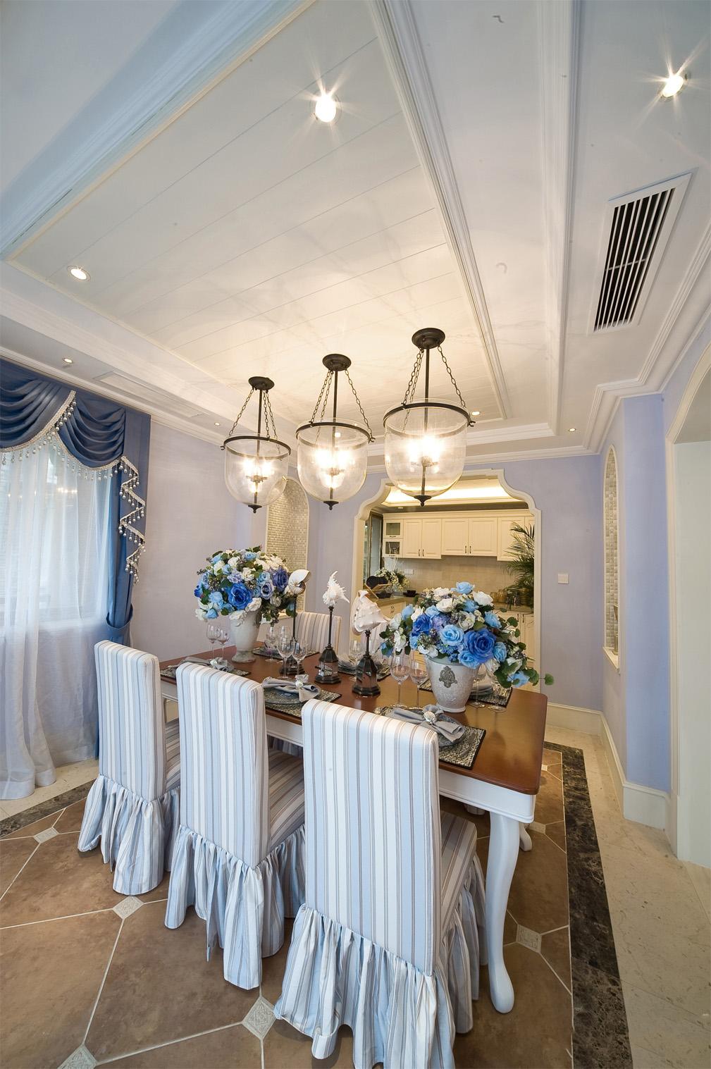 别墅 白领 收纳 80后 小资 地中海 餐厅图片来自一道伍禾装饰设计师杨洋在地中海之泰禾·北京院子别墅装修的分享