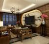 适合于三口之家居住, 以新中式建筑为代表的中国古典建筑的室内装饰设计风格。气势恢弘、壮丽华贵。以木材为主。