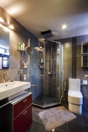 简约 现代 温馨 三居 小资 沪上名家 卫生间图片来自沪上名家装饰在三房简约舒适美家的分享
