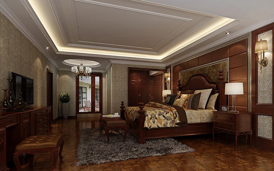 卧室图片来自湖南点石家装在蔚蓝海岸新古典案例赏析的分享
