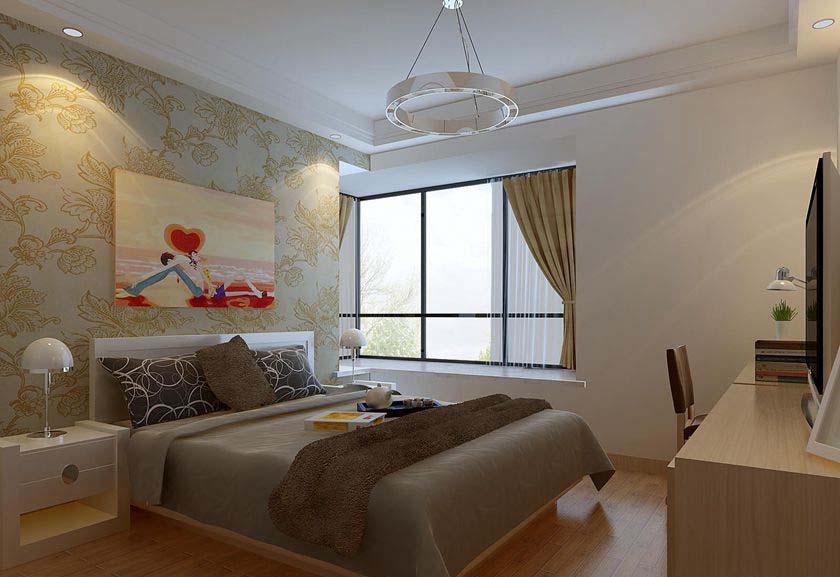 简约 三居 白领 收纳 80后 小资 卧室图片来自实创装饰百灵在暖暖的温馨三居室的分享