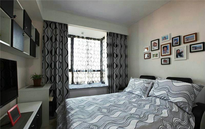现代风格 农业厅小区 四居 装修 效果图 卧室图片来自夏曼在农业厅家属院 140平现代风格装修的分享