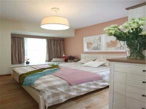 混搭 宜家 三居 小资 客厅 婚房 卧室图片来自沙漠雪雨在139平米混搭宜家小资婚房的分享