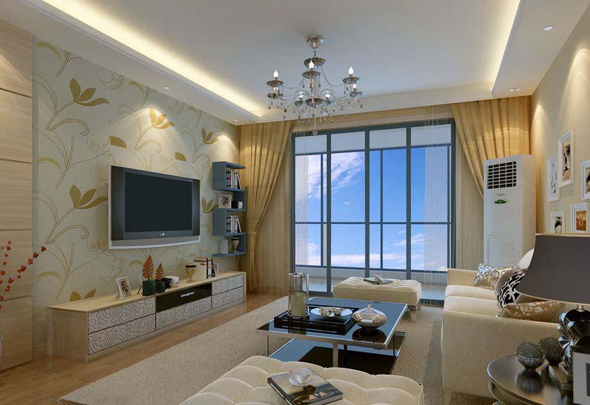 简约 三居 白领 收纳 80后 小资 客厅图片来自实创装饰百灵在暖暖的温馨三居室的分享