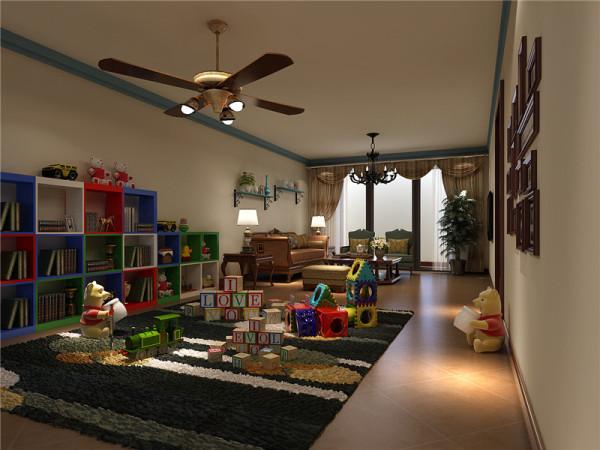 地下休闲室:不追求华丽、高雅的,更讲求舒适、实用。
