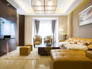 轻装修 重装饰200平复式婚房