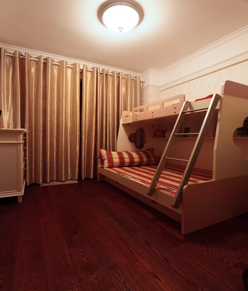 儿童床 次卧 吊顶 欧式图片来自上海蓝图空间在时光流逝的分享