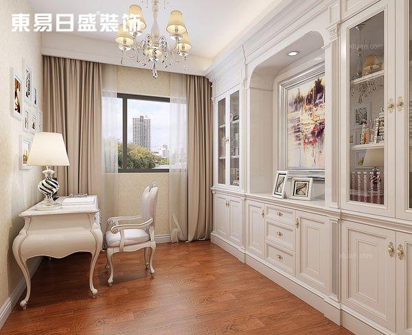 新古典 书房图片来自武汉东易日盛在复地东湖国际—新古典—马红伟的分享