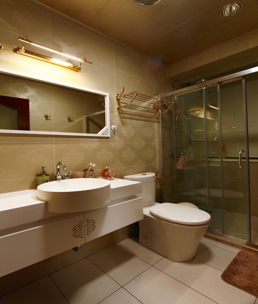 卫生间 欧式 二居图片来自上海蓝图空间在时光流逝的分享