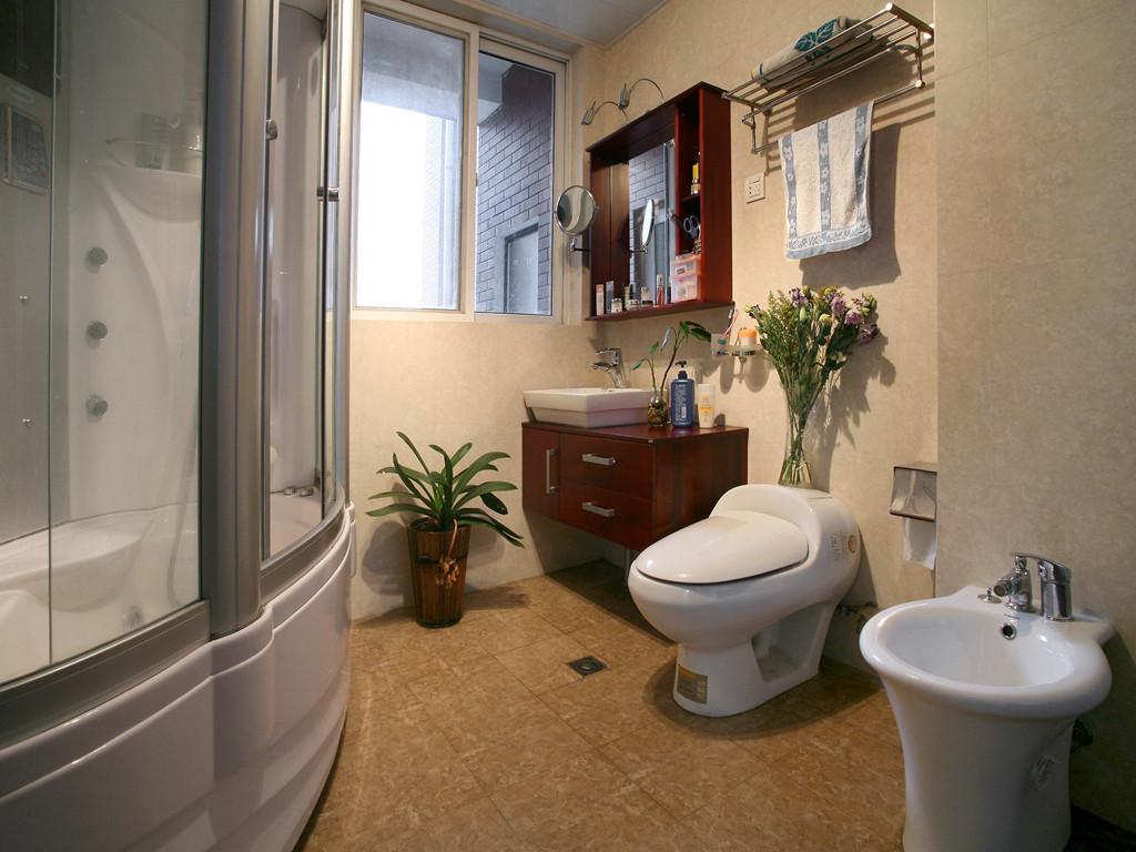 东南亚风格 三居 卫生间图片来自成都创新思维装饰工程有限公司在南城都汇东南亚风格的分享
