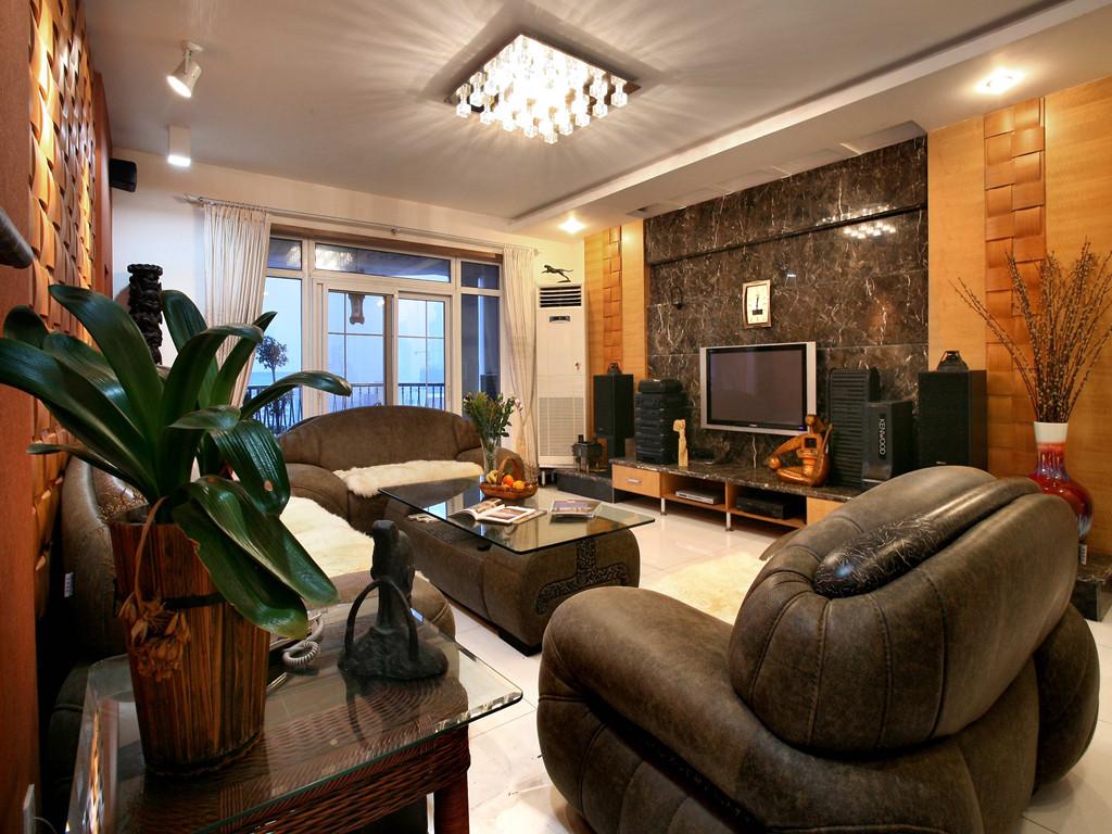 东南亚风格 三居 客厅图片来自成都创新思维装饰工程有限公司在南城都汇东南亚风格的分享