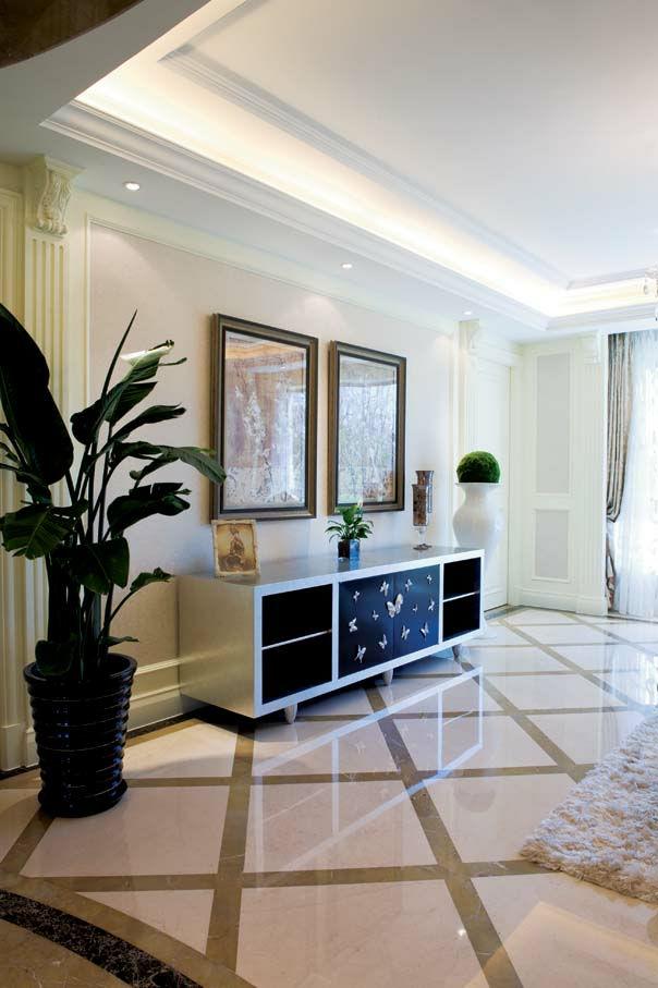 南山美树 190平米 现代欧式 复式 客厅图片来自cdxblzs在南山美树 190平米 现代欧式 复式的分享